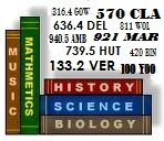 Dewey Decimal Classification Chart